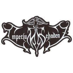 imperium dekadenz logo cut out backpatch