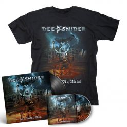 dee snider for the love of metal cd shirt bundle