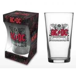 AC/DC - Black Ice / Beer Glass