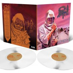 DEATH - Leprosy / MILKY CLEAR 2-LP Gatefold