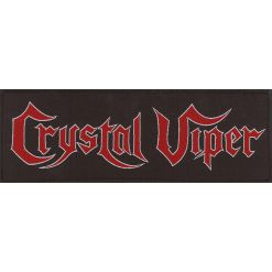 CRYSTAL VIPER - Logo / Patch