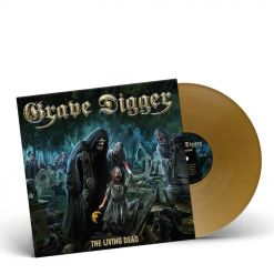 grave digger the living dead golden vinyl