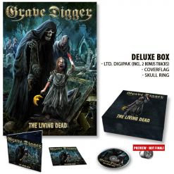 grave digger the living dead deluxe box