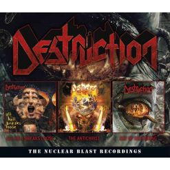 DESTRUCTION - The Nuclear Blast Recordings / 3-CD Box