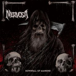 52397 nervosa downfall of mankind cd thrash metal