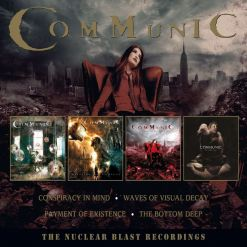 COMMUNIC - The Nuclear Blast Recordings / 4-CD BOX