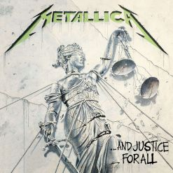 Metallica album cover And Justice For All