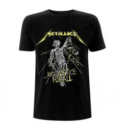 Metallica And Justice For All T-shirt front