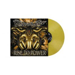 MONSTROSITY - Rise To Power / PASTEL GOLDEN YELLOW LP