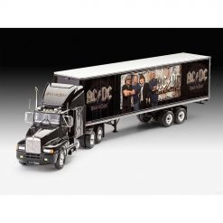 53445-1 ac_dc truck and trailer plastic modell kit