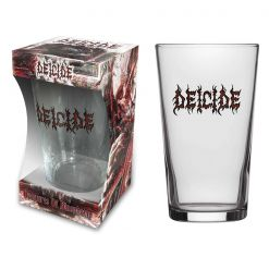 DEICIDE - Logo / Beer Glass