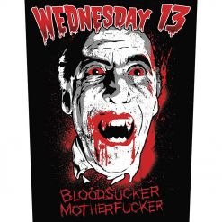 53724 wednesday 13 bloodsucker backpatch