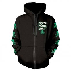 alestorm pirate pizzy party zip hoodie