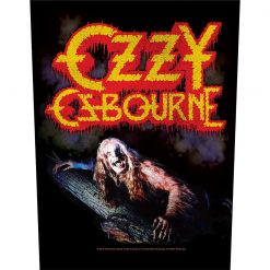 OZZ OSBOURNE - Bark At The Moon / Backpatch