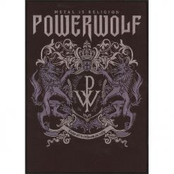 POWERWOLF - Metal Is Religion / Backpatch