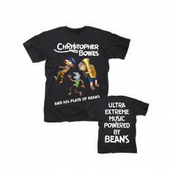 Christopher Bowes and his Plate of Beans / T-Shirt