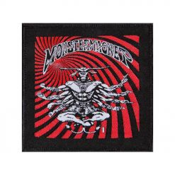 54008 monster magnet 8 arms bullgod patch