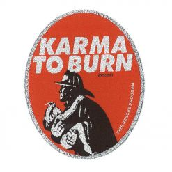 karma to burn fireman patch