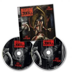 54083 legion of the damned feel the blade cult of the dead 2-cd death metal
