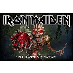iron maiden - book of souls - flagge