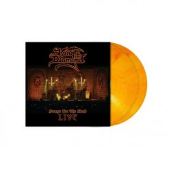 KING DIAMOND - Songs for the Dead / ORANGE RED Marbled 2-LP Gatefold
