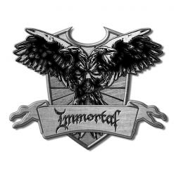 IMMORTAL - Crest / Metal Pin Badge