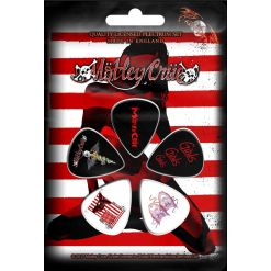 Red, White & Crue / Plectrum Pack