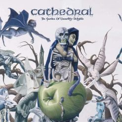 CATHEDRAL - The Garden Of Unearthly Delights / CLEAR/WHITE/GREEN Splatter 2-LP Gatefold