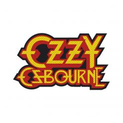 OZZY OSBOURNE - Logo Cut-Out / Patch
