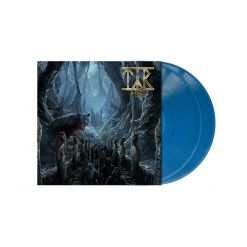 TYR - Hel / CLEAR/BLUE Marbled LP