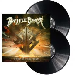 BATTLE BEAST - No More Hollywood Endings / BLACK 2-LP Gatefold