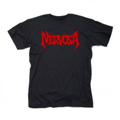 54829-1 nervosa red photo t-shirt