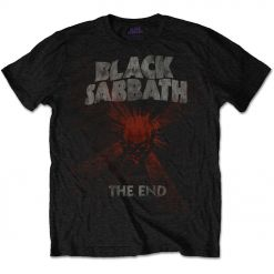 BLACK SABBATH - The End Mushroom Cloud / T-Shirt