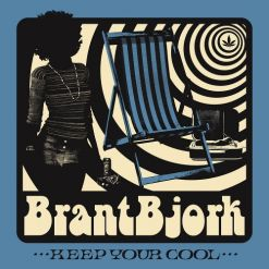 BRANT BJORK - Keep Your Cool / WHITE/BLUE/SILVER Marbled LP