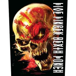five finger death punch and justice for none backpatch