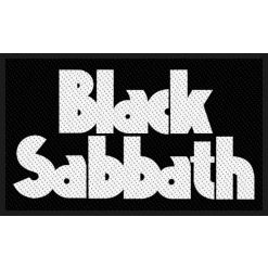 black sabbath logo patch