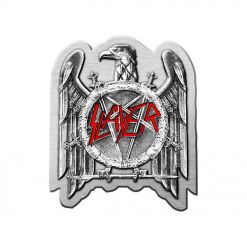slayer eagle metal pin badge