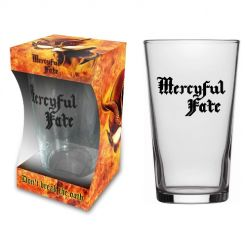 mercyful fate dont break the oath beer glass