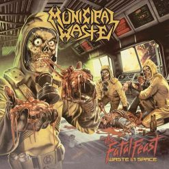 municipal waste the fatal feast splatter lp