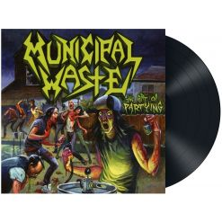 municipal waste the art of partying black vinyl
