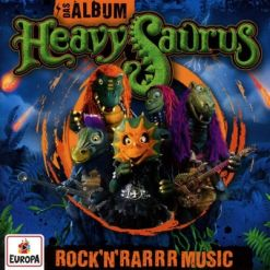 heavysaurus das album - rock n rarrr music