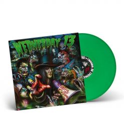 WEDNESDAY13 - Calling All Corpses / GREEN LP Gatefold
