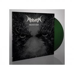 abbath outstrider dark green lp gatefold