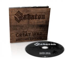 SABATON - The Great War - History Edition / Digipak CD