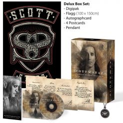 SCOTT STAPP - The Space Between The Shadows / Deluxe Box