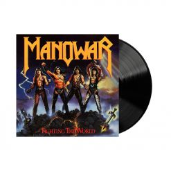 manowar fightint the world vinyl