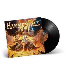 HAMMERFALL - Dominion / BLACK LP Gatefold