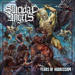 SUICIDAL ANGELS - Years of Aggression / Digipak CD