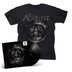 THE AGONIST - Orphans / BLACK LP Gatefold + T- Shirt Bundle