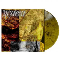 neaera - the rising tide of oblivion - yellow-black-marbled lp